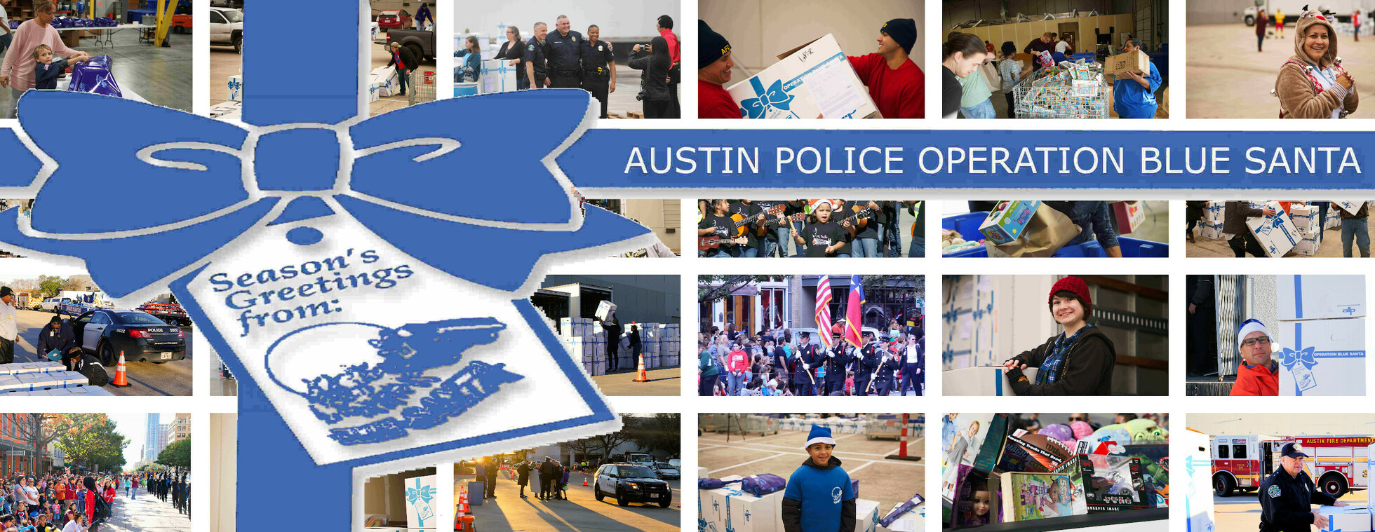 AUSTIN POLICE OPERATION BLUE SANTA VIRTUAL AUCTION